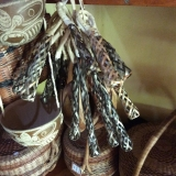 Authentic Kalinago Crafts - wife leader